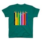 gorozomachine_storeの色鉛筆 T-Shirt