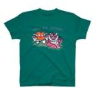 リップちゃんズ SHOPの タイガーあんどリップちゃん4 T-Shirt