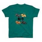 家畜とその他の和牛4品種 T-shirts