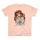 kyouchaaan1210のリボンを付けた少女 T-shirts