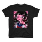 花岬 物子のピンク色の黒歴史 T-shirts