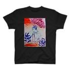 fuffu_dazoの隠れてる少女(イラスト 絵の具 女の子)ふっふ T-shirts