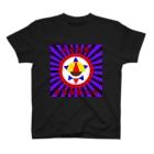 𓀇De La でぃすとぴあ𓁍の自宅警備の会 紫黒 T-shirts