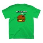 etc.のミミズバーガー T-shirtsの裏面