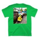 タカハシのステイサム三点バースト T-shirtsの裏面