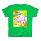 Kifuyuの花と猫 T-shirts