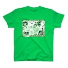 みぎわ天使妖精(養成)事務所の鼠干支天使(チュータン)は苺好き T-shirts