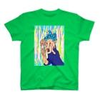 おさるん家のパワフルママ T-shirts