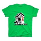 hassegawaのポンプ小屋教団グッズ第一弾復刻版 Tシャツ