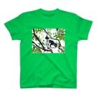 あすきなまこ の木登りミチザネ T-shirts