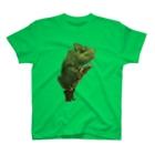 スマホdeイラストレーター・古川 セイのカメレオンのイラスト T-shirts