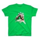 ヤノベケンジアーカイブ&コミュニティのヤノベケンジ《ザ・スター・アンガー》(星に乗るドラゴン) T-shirts