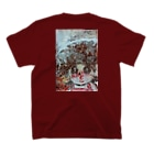 YONEのKISS T-shirtsの裏面