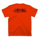 ほてい湯@奈良🦌京終の銭湯のスタンダードほてい湯 T-shirtsの裏面