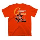G-SOUL商店の両面プリントTシャツ(2)濃色 T-shirtsの裏面