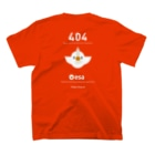 (\( ⁰⊖⁰)/) esaのesa.io (404) Tシャツ