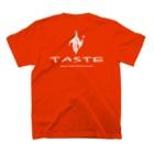 松村堂のtaste mark T-shirtsの裏面