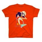 ClowZ/渡瀬しぃののストラトキャスター少女 T-shirts