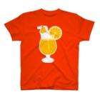 まるいペンギンの店のオレンジペンギン T-shirts
