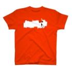 johnmacnのペンキ染め T-Shirt