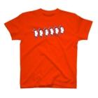 usamiyosioのうさみよしお「前へ進め」 T-shirts