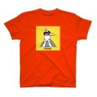 BonBonの考えごとをするミシェル(背景あり) T-shirts
