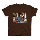 tazzberry.japanのパリ郊外街角シリーズ T-shirts