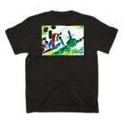 GK! WEB SHOPのサンドバッグを7回殴る T-shirtsの裏面