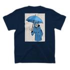 HElll - ヘル - の〈 魔王×偵察 〉ロゴ&バックプリントTシャツ T-shirtsの裏面
