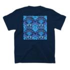 南天大の1:Pattern such as the picture tile T-Shirtの裏面