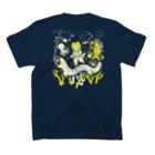 金星灯百貨店のなんと三角 銀河潜水 T-shirtsの裏面