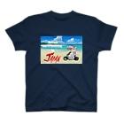 かわいいにゃんことワンコの絵のお店のにゃんこライダース T-shirts