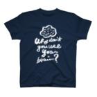 megumiillustrationのbrain Tシャツ