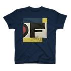 レターオールソーツの'oF' T-shirts