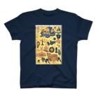 和もの雑貨 玉兎の新板車つくし【浮世絵・おもちゃ絵】 T-shirts