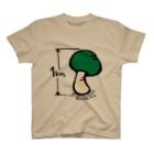 ZENZERONのZENZERON071(きのこ1km) T-shirts