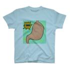 mogrus Goods shopのモグT(胃) T-shirts