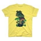 引田玲雄 / Reo Hikitaのキノコとカエル T-shirts