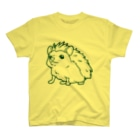 水道橋ですらのおすましはりねずみ(グリーン) T-shirts
