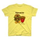 Creepy Treasures!のBurger and Chips T-shirts