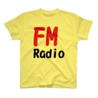 アメリカンベースのFM ラジオ  T-shirts