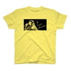 MIHO MORIKAWA SHOP - Je veux chanter -の淡色ボディーTシャツ全6色(Photo A-1C) T-shirts