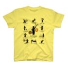 ペストリカさんの同人グッズ@百頭ピンのピクトグラムトリカさん T-Shirt