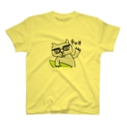 冬虫夏草洋品店の茅ヶ崎在住のサーファー猫 T-shirts