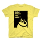 """""""すずめのおみせ"""" SUZURI店のSmile makes you happy T-shirts"""
