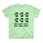 SWEET&SPICY 【 すいすぱ 】ダーツのDARTS!DARTS!DARTS!ドット黒 T-Shirt