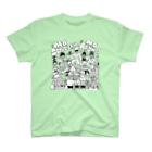 mangatronixのMo' Scratchin', Mo' Rhymes T-shirts