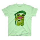 やんわり店舗(アリサ)の読むあめかえる T-shirts