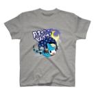 仮想通貨Verge Japan(バージ ジャパン) 公認SHOPのバージリスク(ムーン) T-shirts