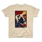 むらかみしのの青猫花猫〜松梅〜 T-shirts